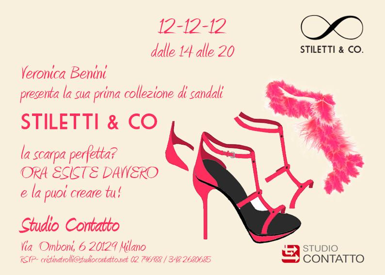 Lancio collezione di sandali Stiletti & Co. di Veronica Benini
