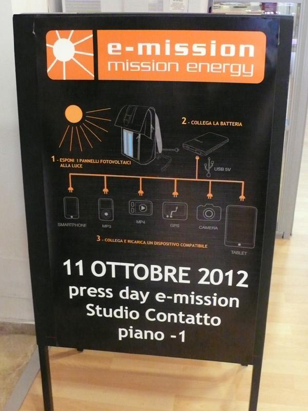 Press Day Borse solari E-Mission