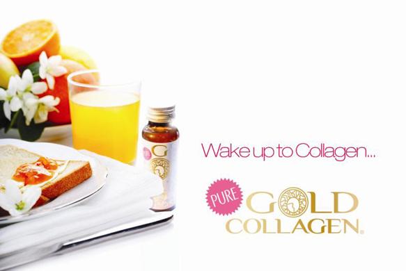 Pure gold Collagene alla cena benefica di Food e Life